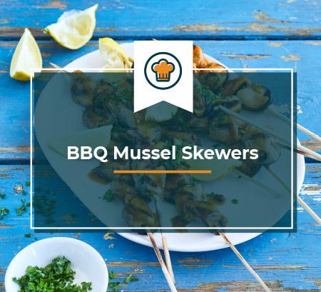 BBQ Mussel Skewers