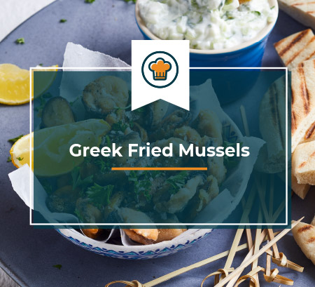 Greek Fried Mussels
